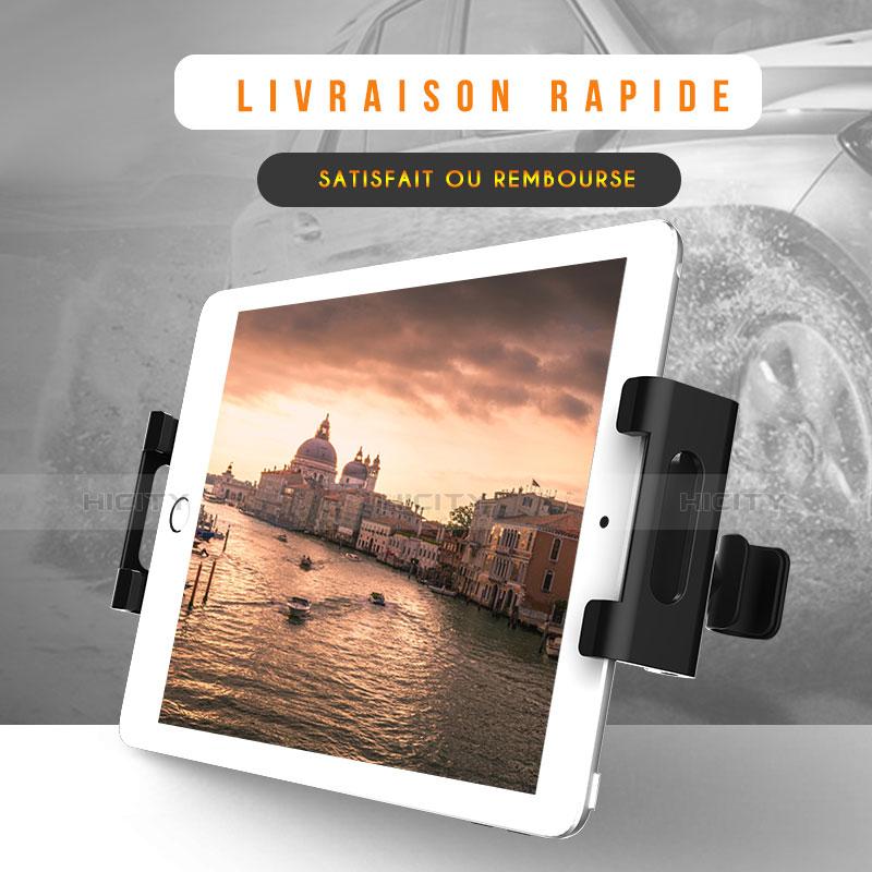 Supporto Sostegno Auto Sedile Posteriore Supporto Tablet PC Universale B02 per Xiaomi Mi Pad 4 Nero