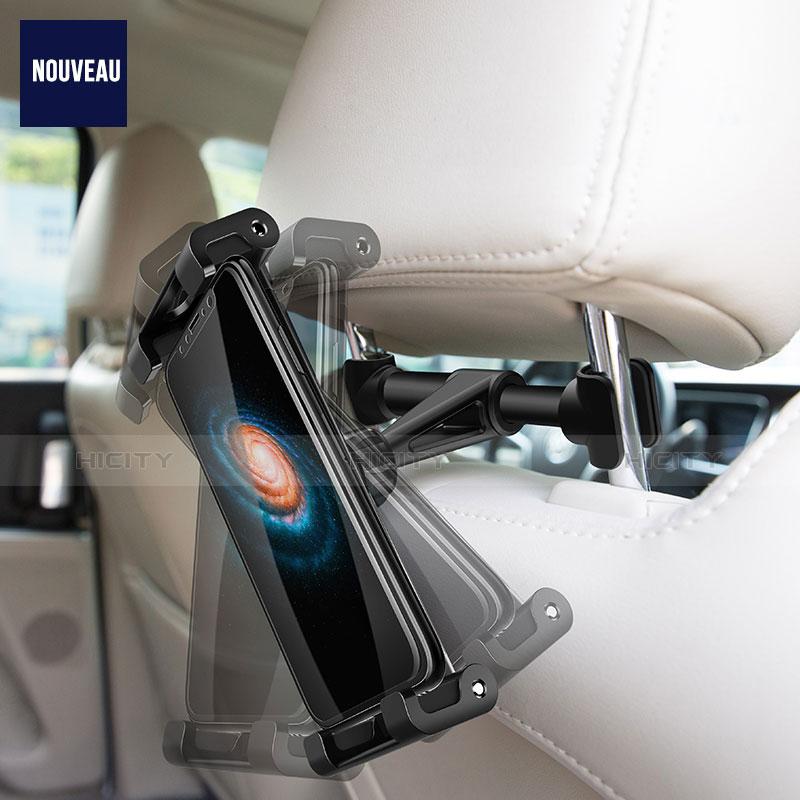 Supporto Sostegno Auto Sedile Posteriore Supporto Tablet PC Universale B02 per Xiaomi Mi Pad 4 Plus 10.1 Nero