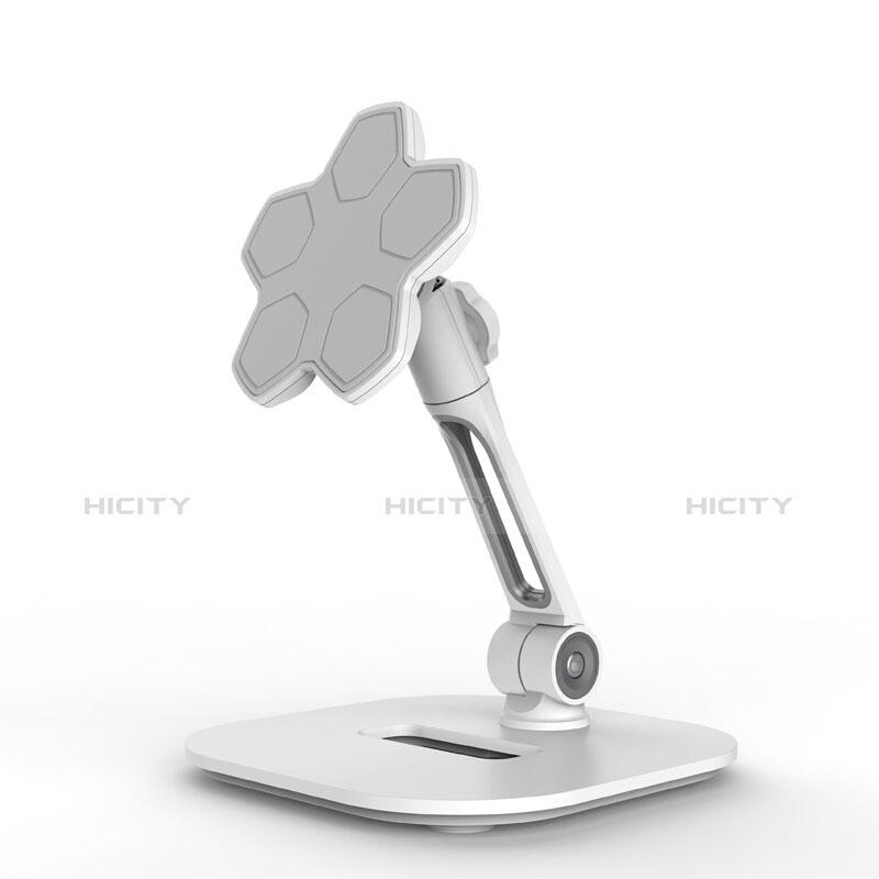 Supporto Tablet PC Flessibile Sostegno Tablet Universale H03 per Apple iPad Pro 12.9 (2020) Bianco