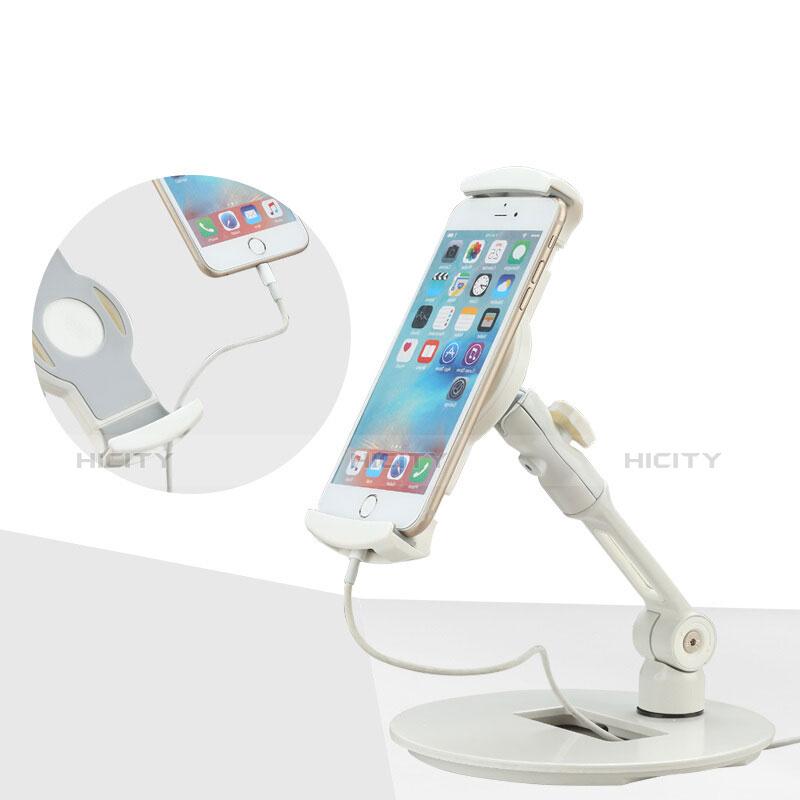 Supporto Tablet PC Flessibile Sostegno Tablet Universale H06 per Apple iPad Mini 2 Bianco
