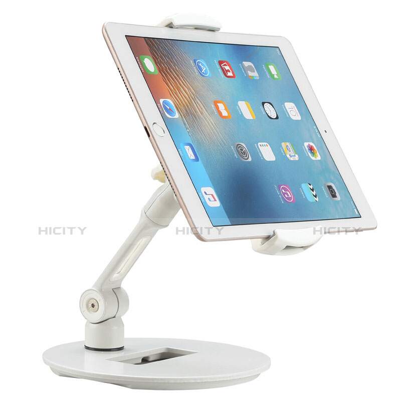 Supporto Tablet PC Flessibile Sostegno Tablet Universale H06 per Xiaomi Mi Pad 4 Bianco