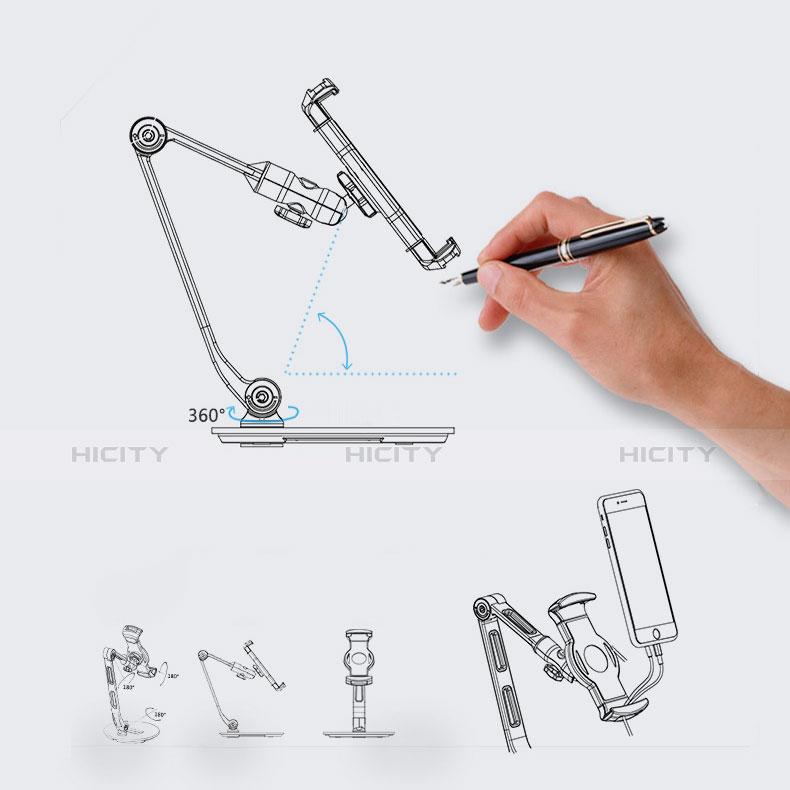 Supporto Tablet PC Flessibile Sostegno Tablet Universale H08 per Xiaomi Mi Pad 4 Nero