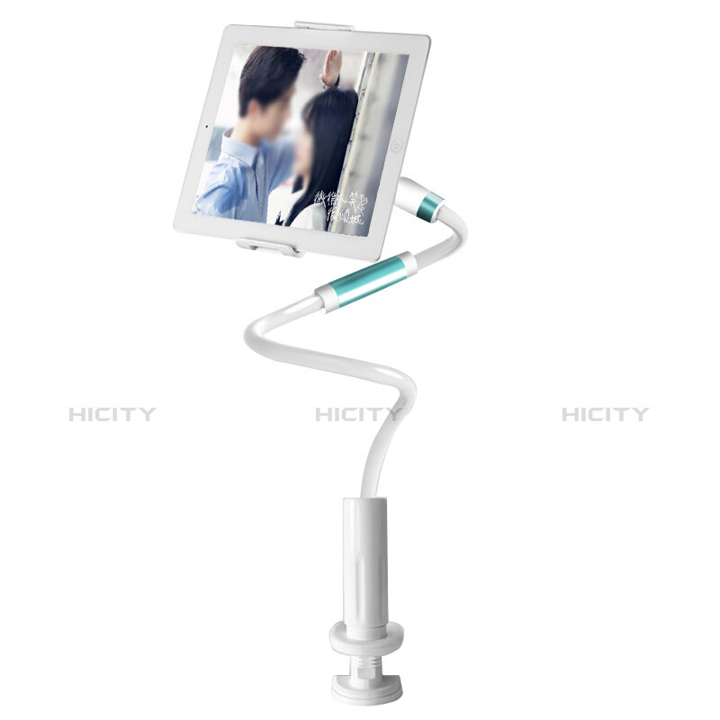 Supporto Tablet PC Flessibile Sostegno Tablet Universale per Apple iPad 2 Bianco