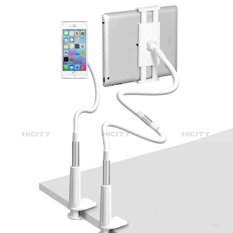 Supporto Tablet PC Flessibile Sostegno Tablet Universale T33 per Xiaomi Mi Pad Argento