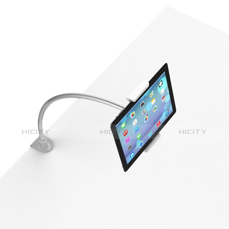 Supporto Tablet PC Flessibile Sostegno Tablet Universale T37 per Apple iPad 4 Bianco