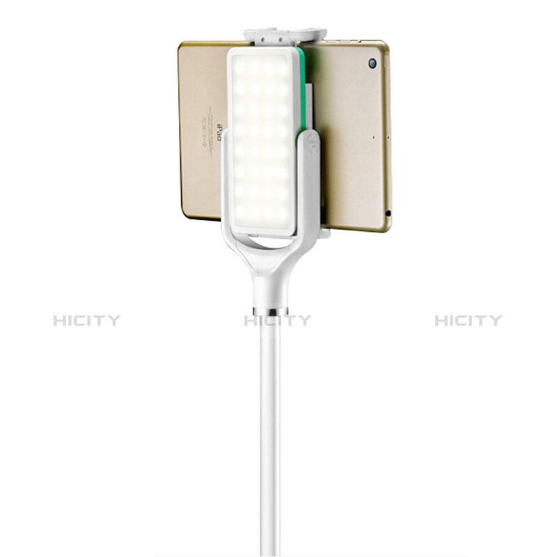 Supporto Tablet PC Flessibile Sostegno Tablet Universale T40 per Apple iPad 2 Bianco
