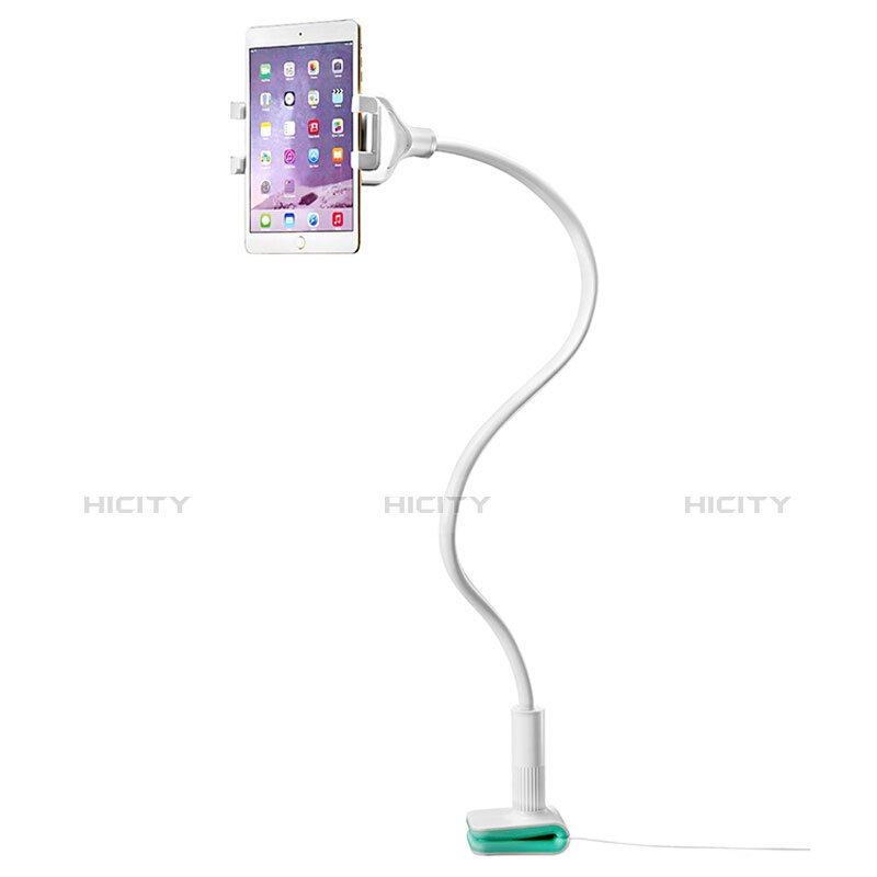 Supporto Tablet PC Flessibile Sostegno Tablet Universale T40 per Xiaomi Mi Pad 4 Bianco