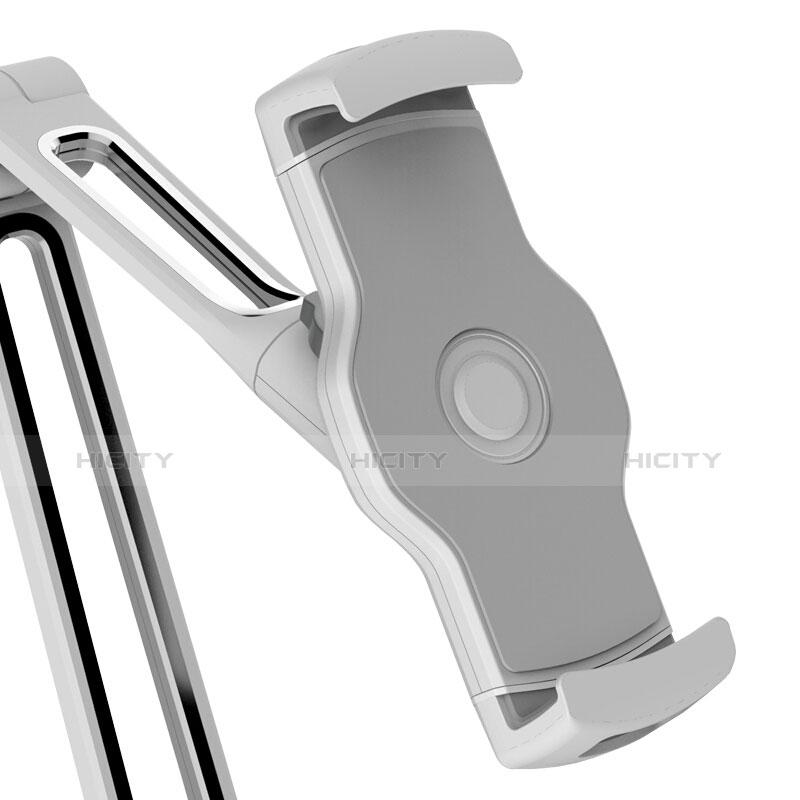 Supporto Tablet PC Flessibile Sostegno Tablet Universale T43 per Apple iPad 3 Argento