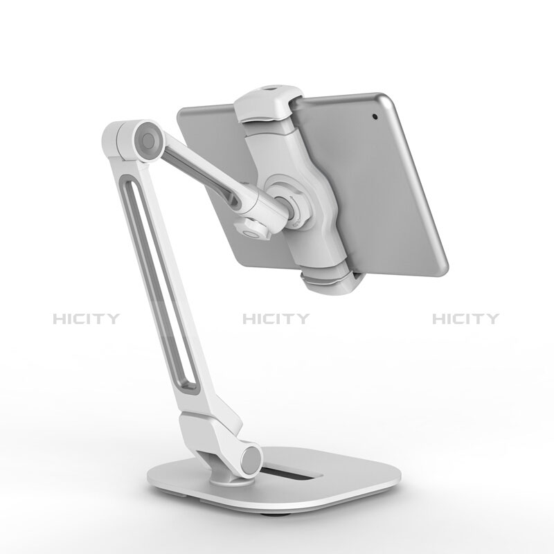 Supporto Tablet PC Flessibile Sostegno Tablet Universale T44 per Apple iPad 2 Argento