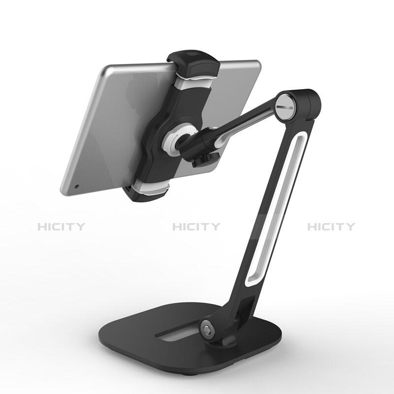 Supporto Tablet PC Flessibile Sostegno Tablet Universale T46 per Apple iPad 3 Nero