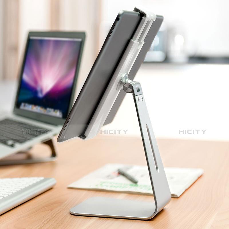 Supporto Tablet PC Sostegno Tablet Universale T24 per Xiaomi Mi Pad 4 Plus 10.1 Argento