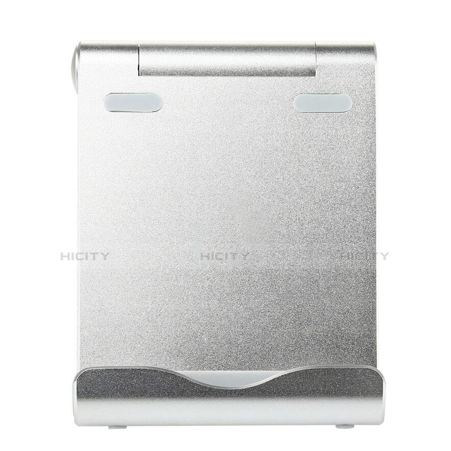 Supporto Tablet PC Sostegno Tablet Universale T27 per Apple iPad 4 Argento