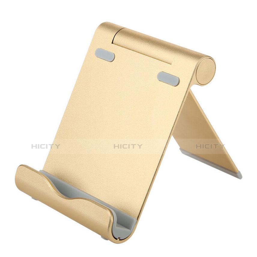 Supporto Tablet PC Sostegno Tablet Universale T27 per Apple iPad 4 Oro