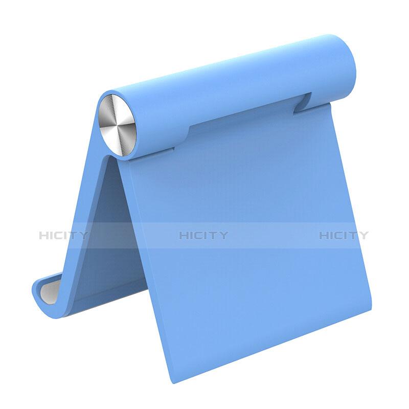 Supporto Tablet PC Sostegno Tablet Universale T28 per Apple iPad 2 Cielo Blu