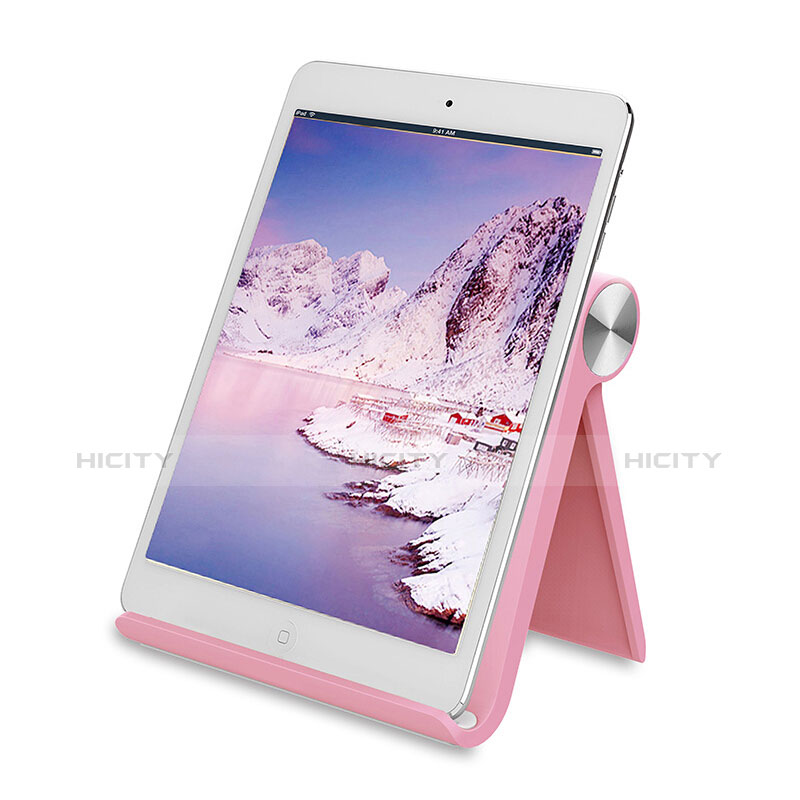 Supporto Tablet PC Sostegno Tablet Universale T28 per Apple iPad 2 Rosa