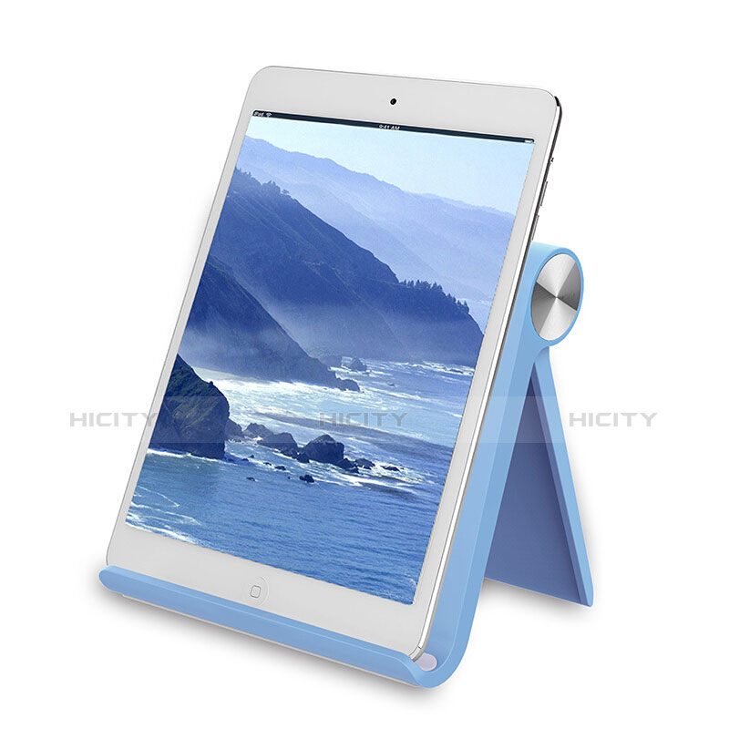 Supporto Tablet PC Sostegno Tablet Universale T28 per Apple iPad 3 Cielo Blu