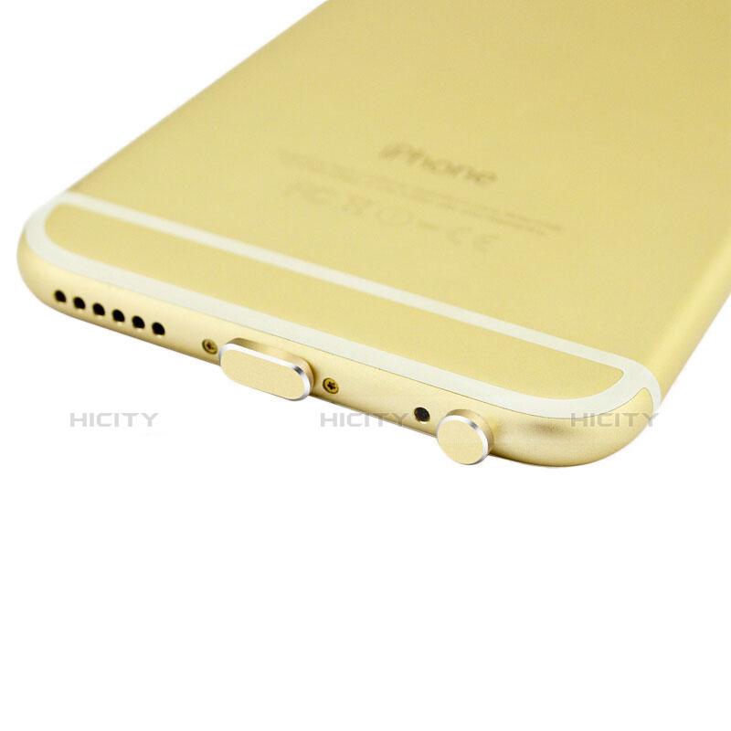 Tappi Antipolvere Anti-dust Lightning USB Jack Antipolvere J01 per Apple iPhone 11 Oro