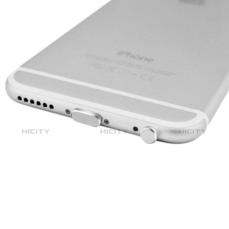 Tappi Antipolvere Anti-dust Lightning USB Jack Antipolvere J01 per Apple iPhone 11 Pro Argento