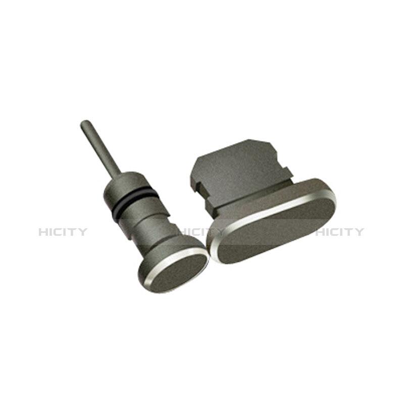 Tappi Antipolvere Anti-dust Lightning USB Jack Antipolvere J01 per Apple iPhone 11 Pro Nero