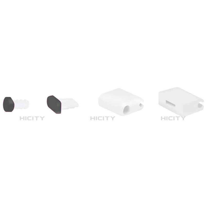 Tappi Antipolvere Anti-dust Lightning USB Jack Antipolvere J02 per Apple iPhone 11 Nero