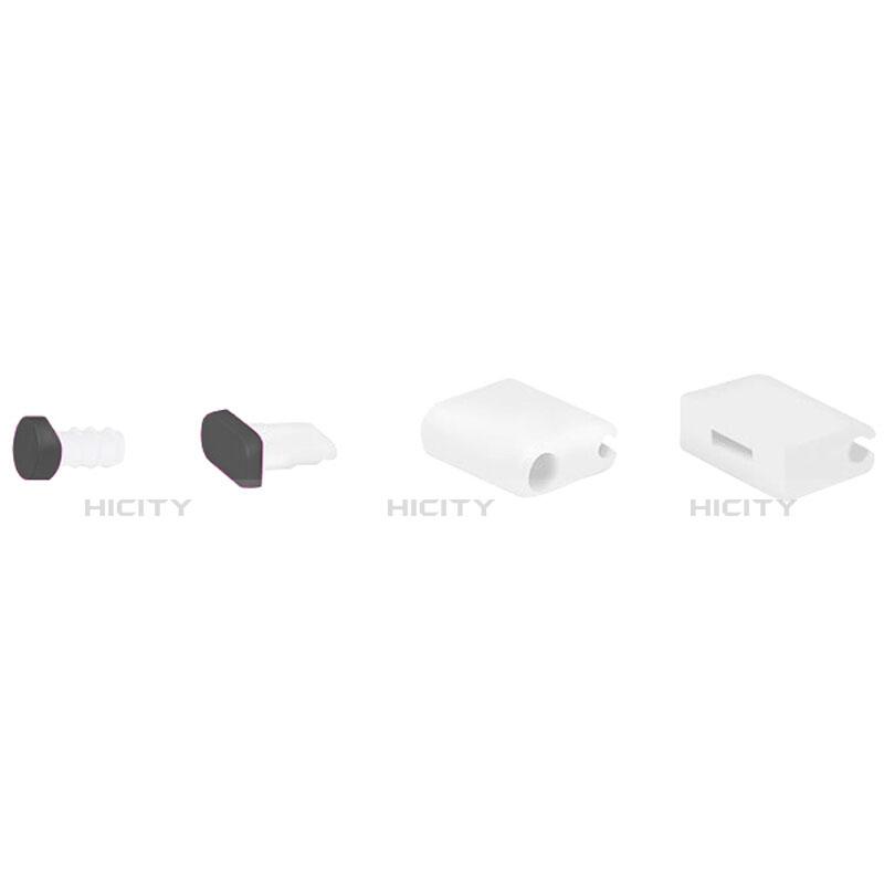 Tappi Antipolvere Anti-dust Lightning USB Jack Antipolvere J02 per Apple iPhone 11 Pro Nero