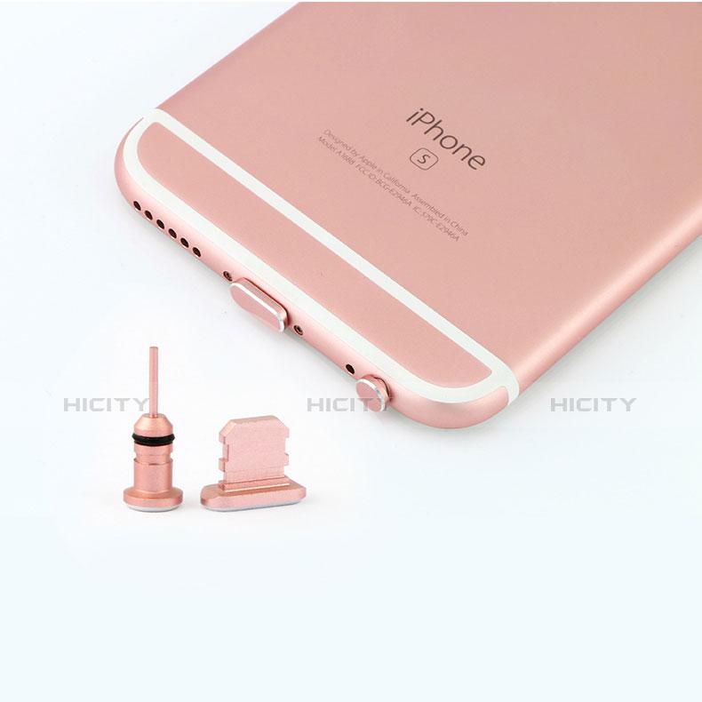 Tappi Antipolvere Anti-dust Lightning USB Jack Antipolvere J04 per Apple iPhone 11 Pro Argento