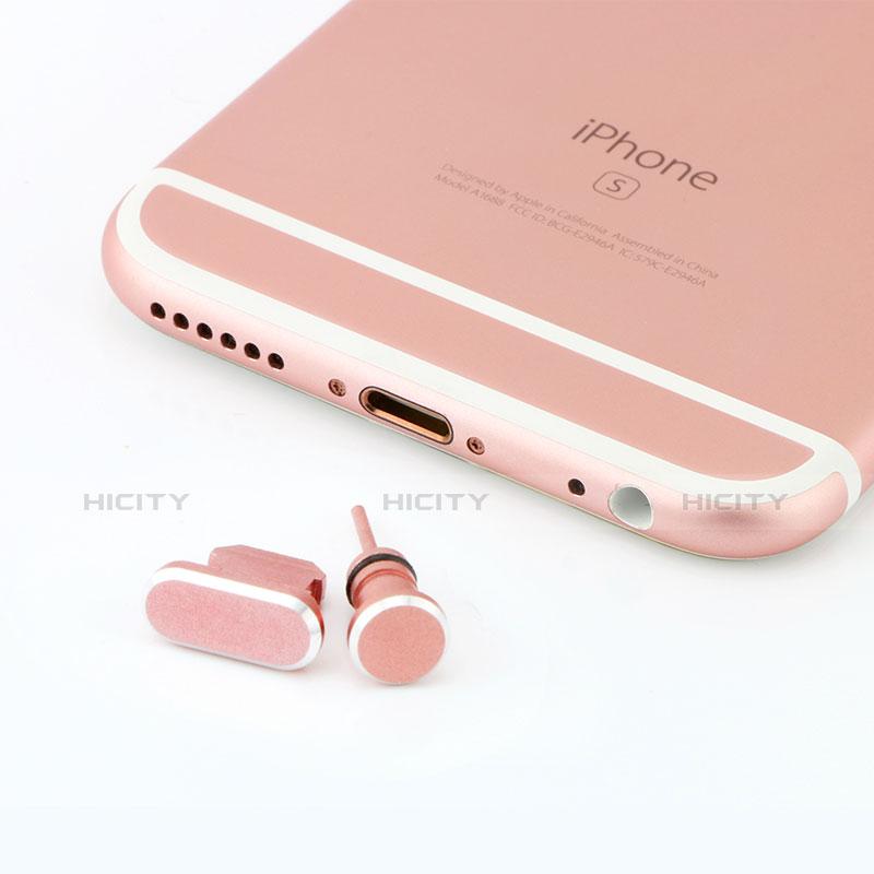 Tappi Antipolvere Anti-dust Lightning USB Jack Antipolvere J04 per Apple iPhone 11 Pro Oro