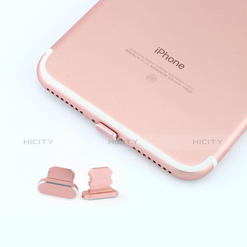 Tappi Antipolvere Anti-dust Lightning USB Jack Antipolvere J06 per Apple iPhone 11 Pro Argento