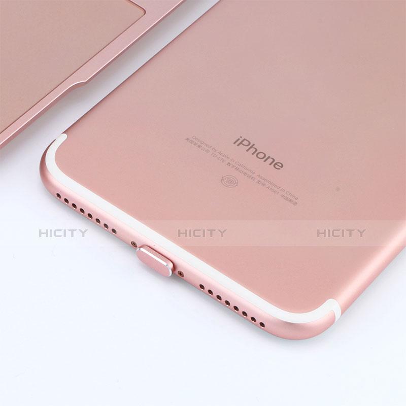 Tappi Antipolvere Anti-dust Lightning USB Jack Antipolvere J06 per Apple iPhone 11 Pro Oro Rosa