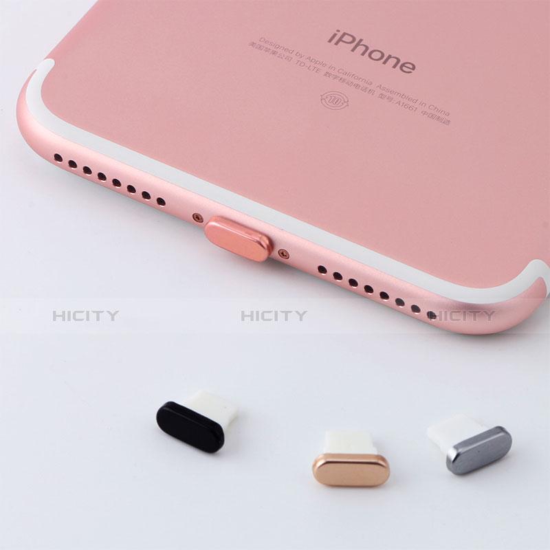 Tappi Antipolvere Anti-dust Lightning USB Jack Antipolvere J07 per Apple iPhone 11 Nero
