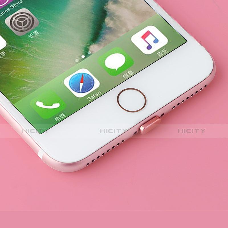 Tappi Antipolvere Anti-dust Lightning USB Jack Antipolvere J07 per Apple iPhone 11 Oro Rosa