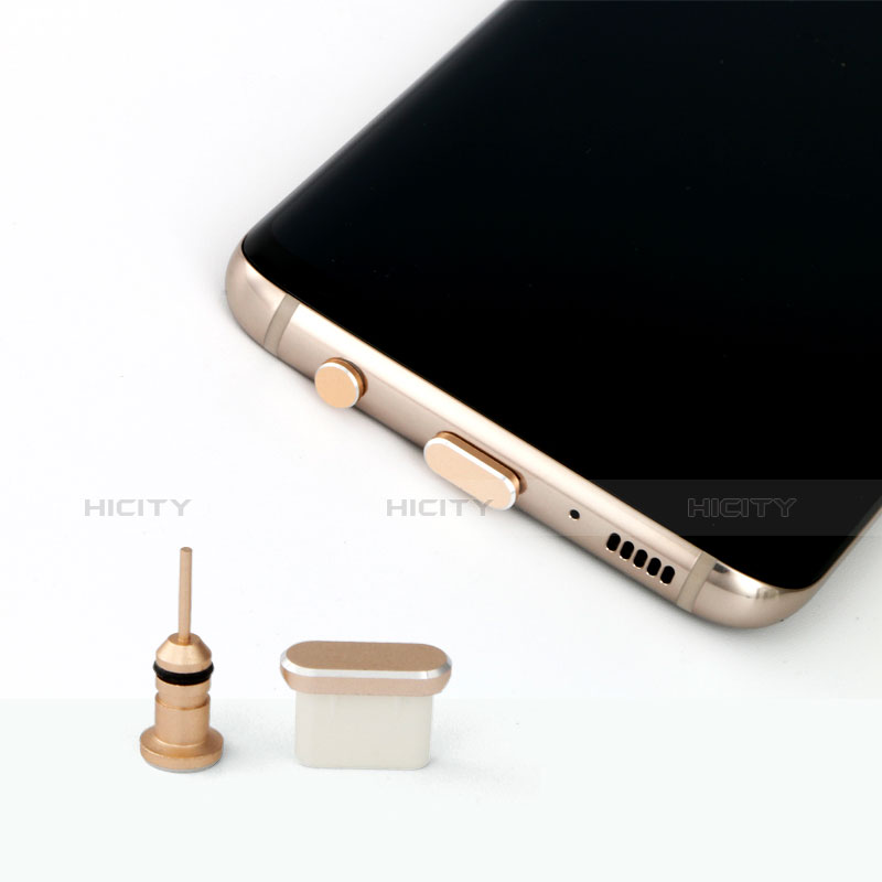 Tappi Antipolvere USB Jack Anti-dust Android Type-C Anti Polvere Universale Argento